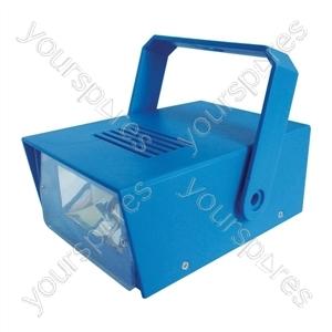Cheetah Battery Operated LED Mini Strobe - Colour Blue