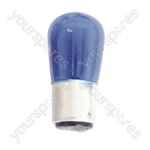 Coloured Pygmy Lamp BC 25W - Colour Blue
