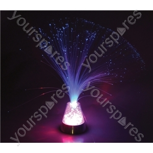 Colour Changing Battery Operated Fibre Optic Light