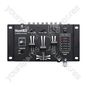 SoundLAB Mini Mixer with Crossfade