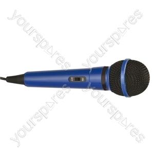 Dynamic Handheld Karaoke Microphone - Colour Blue