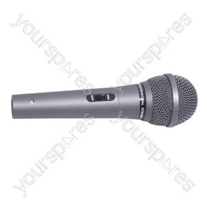 SoundLAB Dynamic Handheld Microphone 600 Ohm
