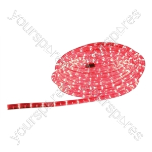 Eagle Static Plug and Play LED Rope Light 9m - Colour Red