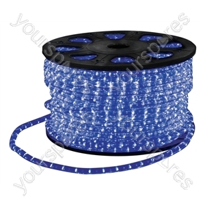 Eagle Static LED Rope Light Kit With Wiring Accessories Kit 90m - Colour Blue