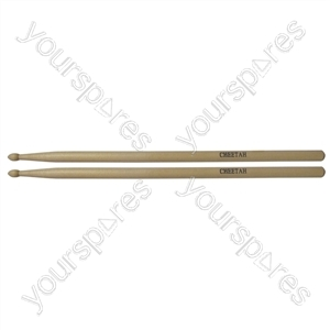 Maple Drum Sticks (Pair) - Size 5A