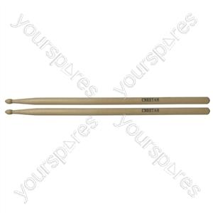 Maple Drum Sticks (Pair) - Size 5B