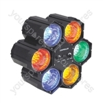 6 Way LED Pod Party Light