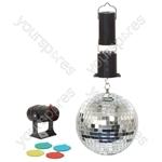 6 Inch  Mirror Ball Party Set