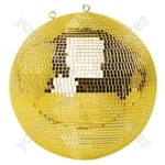 Gold Mirror Ball - Diameter (mm) 300 (12inch)