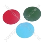 50 mm Dichroic Filter for Par 16 Cans and Low Voltage Downlighters - Colour Green