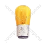 Coloured Pygmy Lamp BC 25W - Colour Yellow
