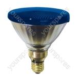 Sylvania Par 38 Lamp ES 80W - Colour Blue