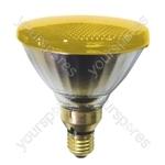 Sylvania Par 38 Lamp ES 80W - Colour Yellow