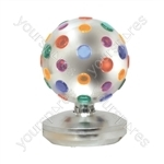 8 Inch (203 mm) Revolving Disco Ball