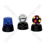 Funki Party Set Containing Mini Disco Lights