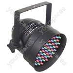 Par 56 Short Nose LED Can DMX - Colour Black