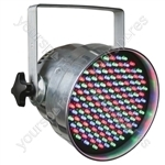 Par 56 Short Nose LED Can DMX - Colour Aluminium