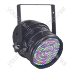 Par 64 Short Nose LED DMX Can - Colour Black