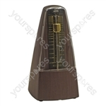 Large Ebony Effect Mechanical Metronome