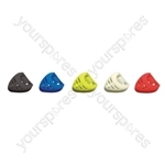 Heart Shaped Guitar Pick Holder - Colour Yellow