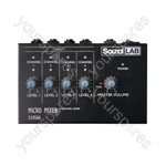 Soundlab 4 Channel Mono Mixer
