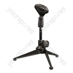 Desk Microphone Stand With Tripod Base