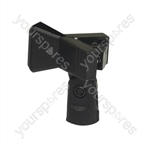 Microphone Holder With Spring Clip 28mm