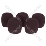 Foam Microphone Windshield 45mm Pk of 5