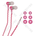 Thread-Wrapped Fashion Earphones