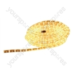 Eagle Static Plug and Play LED Rope Light 9m - Colour Yellow