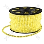 Eagle Static LED Rope Light Kit With Wiring Accessories Kit 90m - Colour Yellow