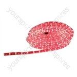 Eagle Static LED Rope Light 6m - Colour Red