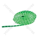 Eagle Static LED Rope Light 6m - Colour Green