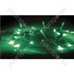 Eagle LED String Light (20) - Colour Green