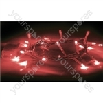 Eagle LED String Light (20) - Colour Red