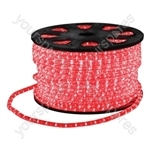 Eagle Static LED Rope Light 45m - Colour Red