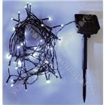 Eagle LED Solar Powered Outdoor String Lights 100 LED's 10m Length - Colour White