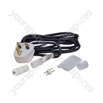 Static Rope Light Power Lead Accessory Kit