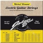 Johnny Brook Nickel Wound Electric Guitar Strings Set of 6 - Gauge Super Light