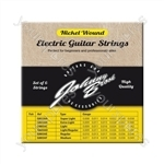 Johnny Brook Nickel Wound Electric Guitar Strings Set of 6 - Gauge Extra Light