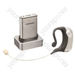 Samson Airline Micro Earset System Wireless Headset Microphone - Frequencies (MHz) 864.875 Mhz