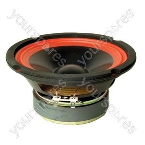 166 mm 60 W Bass/Mid Range Round Speaker (8 Ohm)