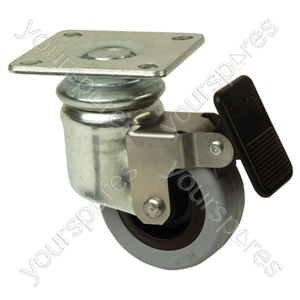 Swivel Castor with Foot Operated Brake 50mm