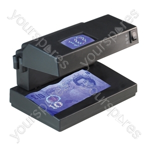 Compact UV Counterfeit Money & Document Detector