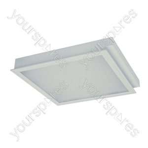 Recessed Modular Clean Room 3/4x14 W T5 O/P