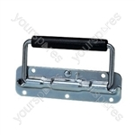 Spring Loaded Drop Case Handle - Colour Nickel
