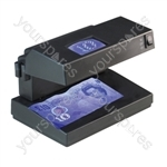 Compact UV Counterfeit Money & Document Detector