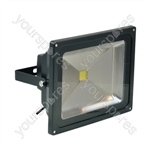 Eagle Waterproof IP65 Black Flood Lights - Lamp Type 50W LED