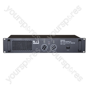 NJS NJSA Stereo Slave Amplifiers - Power RMS (W) @ 4 Ohms 2x230