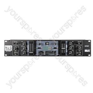 NJS DJX-1800U 2 Channel DJ Mixer